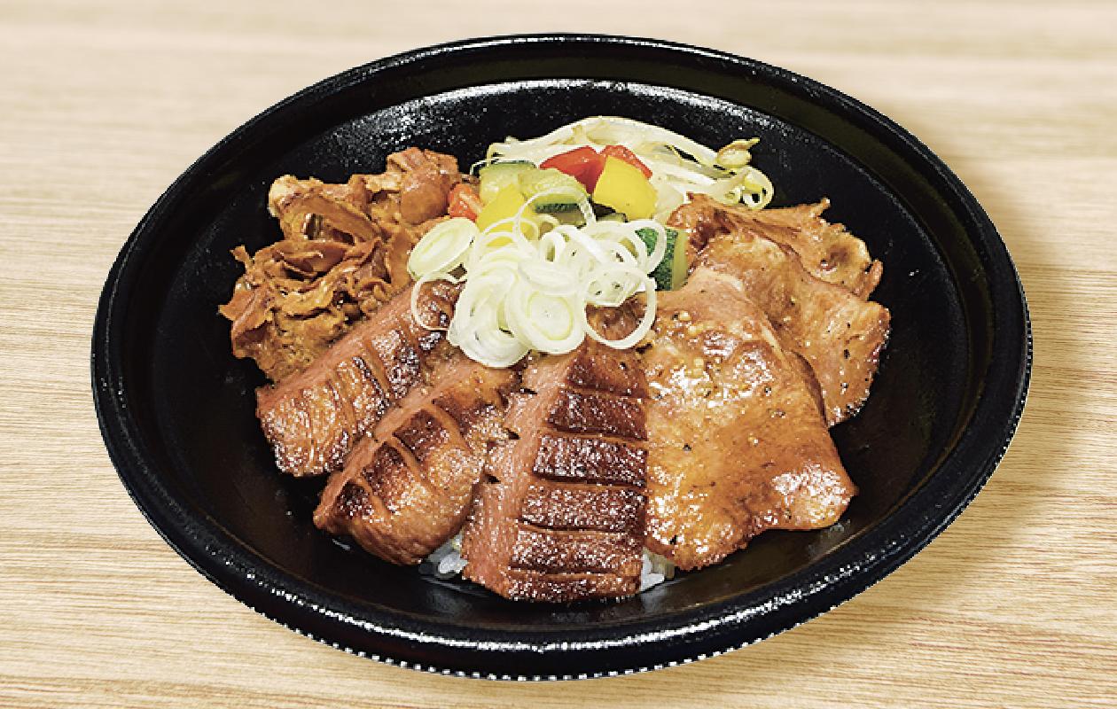 贅沢牛たん3種丼