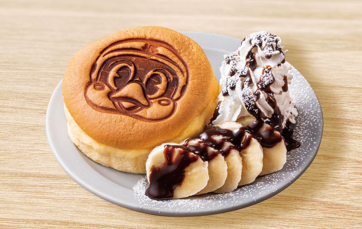 つば九郎パンケーキ