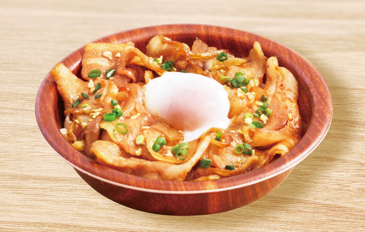 スタミナ生姜焼き丼