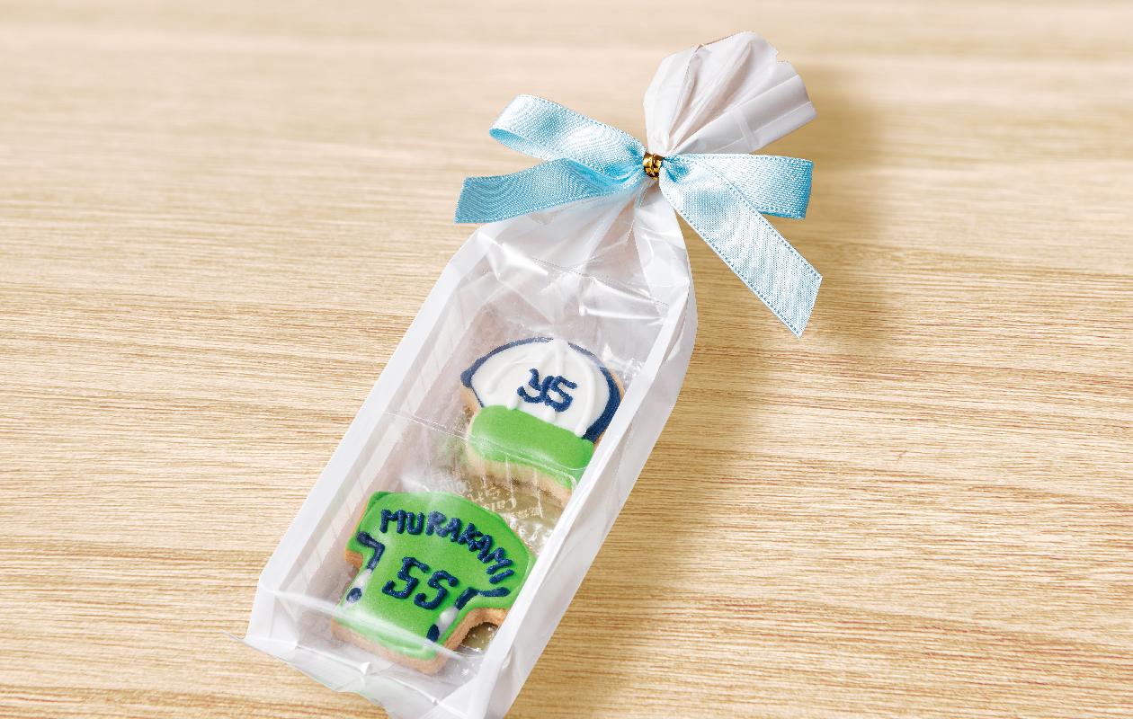 村上宗隆のアイシングクッキー