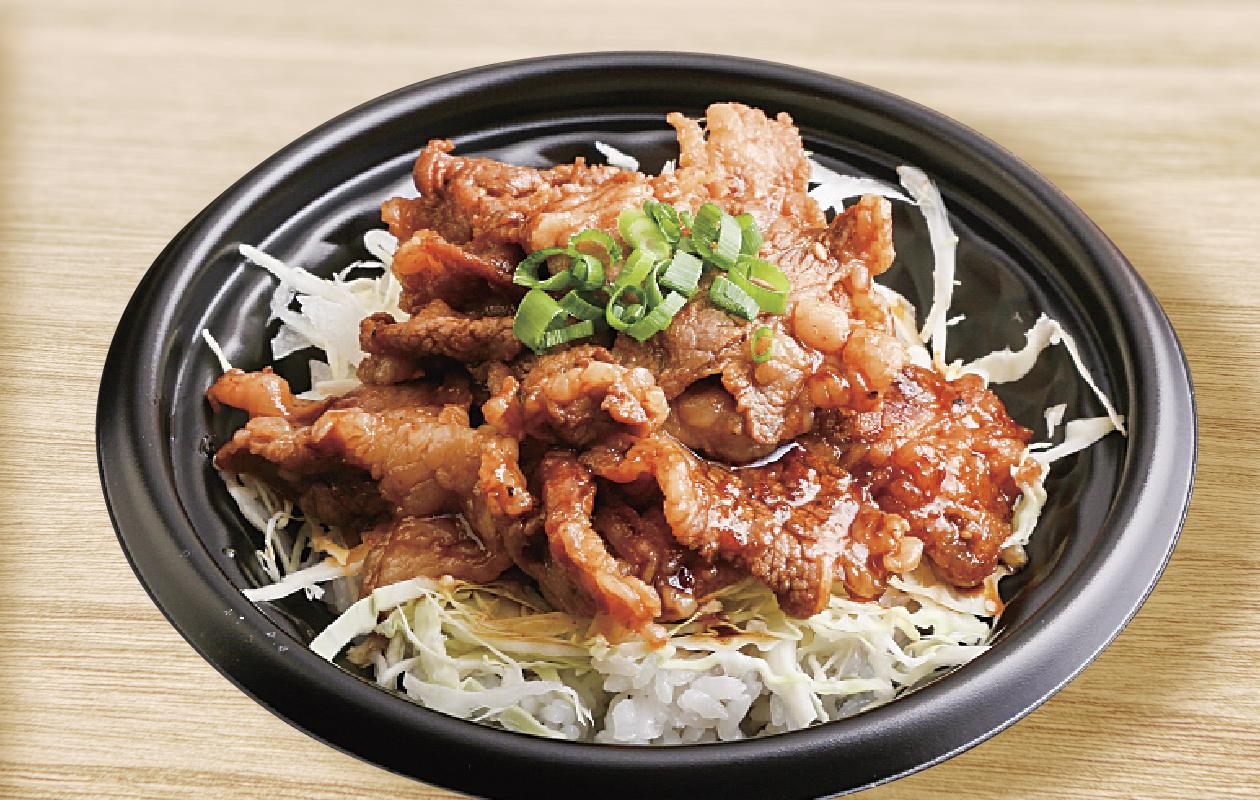 王道カルビ丼