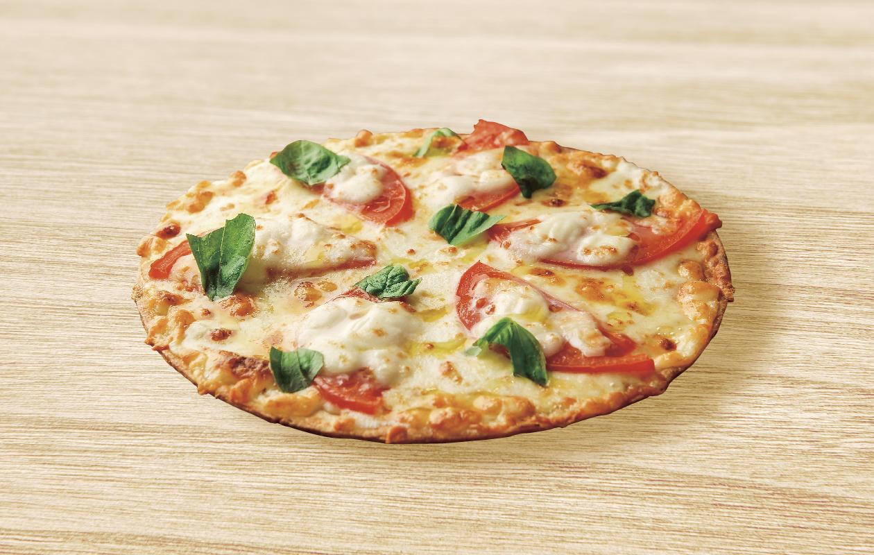 石やマルゲリータピザ