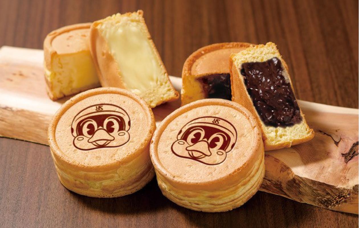 つば九郎焼き (あんこ、カスタード、チョコレート、カレー) 1個